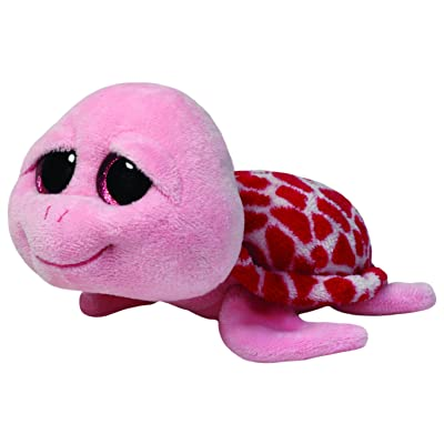 Ty Beanie Boos Shellby Pink Turtle Plush: Toys & Games