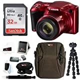 Canon PowerShot SX420 IS Digital Camera w/Sony 32GB SD Card & Advanced Accessory Bundle