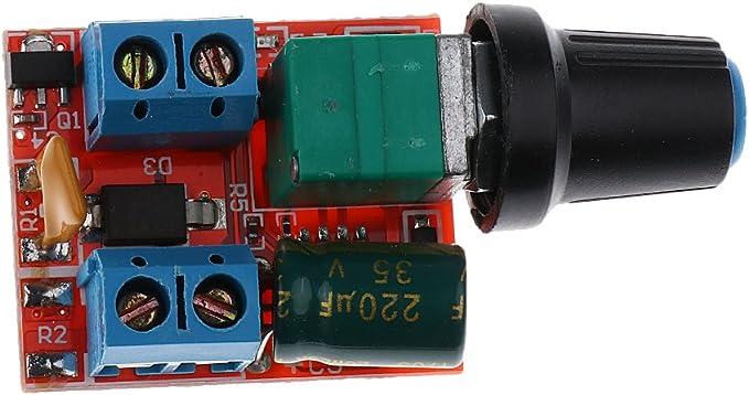 Sharplace Mini Spannungsregler Einstellbare Steuerpult Elektronik