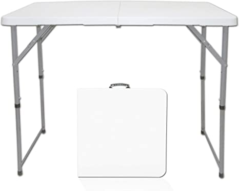 Muebles de mesa rectangulares multiusos, mesa plegable central ...