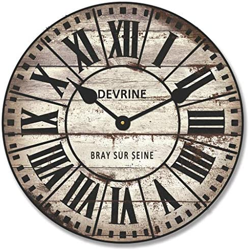 French Tower 2 Wall Clock