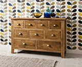Vermont Solid Oak Sideboard in Natural Oak Noa & Nani