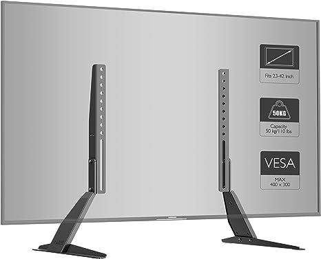 BONTEC Soporte TV Ruedas Mesa TV 23-55 Pulgadas Plasma/LCD/LED ...