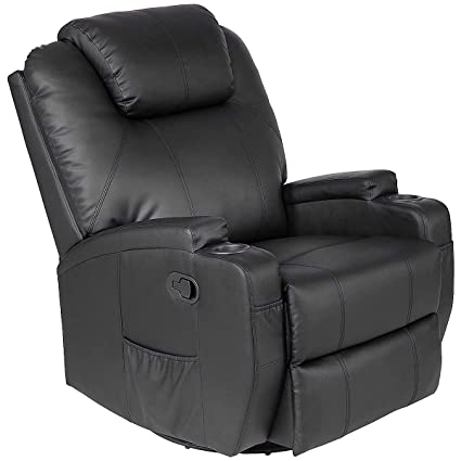 Amazing Casart Leather Massage Recliner Chair Electric Heated Sofa Swivel Ergonomic Power Recliner Living Room Lounge Swivel Lift Massaging Reclining Chair Ncnpc Chair Design For Home Ncnpcorg