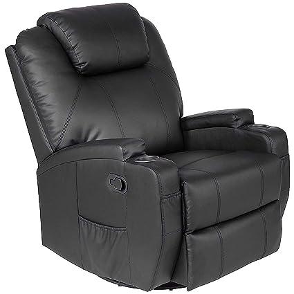 Brilliant Casart Leather Massage Recliner Chair Electric Heated Sofa Swivel Ergonomic Power Recliner Living Room Lounge Swivel Lift Massaging Reclining Chair Short Links Chair Design For Home Short Linksinfo