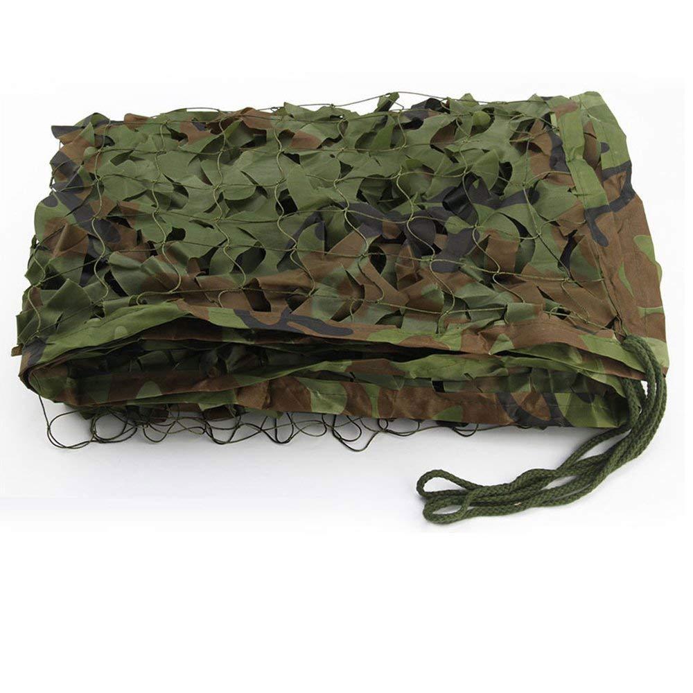 A 34M(9.813.1ft) LQQFF Filet de Camouflage pour Enfants, Filet de Camouflage forescravater Camping Tente de pêche extérieure Parasol portable