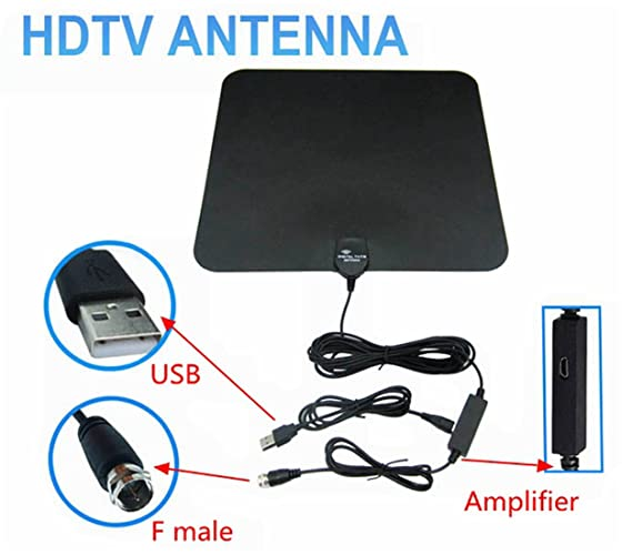 Review Indoor HDTV Amplified Digital