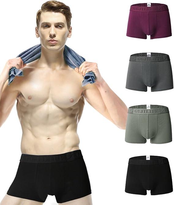 Gfirmament Slips Hombre Pack Slips para Hombre Boxer de Algodón Elástico para Hombre: Amazon.es: Ropa y accesorios