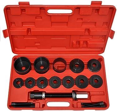 Radlagerwerkzeug Set 20-teiliges Abzieher Koffer Radlagerabzieher Carbonstahl