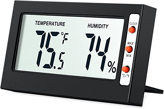 High Accuracy Digital Temperature And Humidity Indicator 5 YEAR WARRANTY Takit Thermometer Indoor Hygrometer