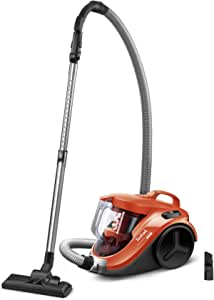 Tefal TW3724HA Cyclone Vacuum Cleaner with 2.6 Feet Cable and 1.5-L Container for Easy and Continuous Vacuuming