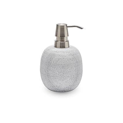 Jabón dispensador de mármol gris claro AQUANOVA Zona
