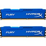 Kingston HyperX FURY 8GB Kit (2x4GB) 1600MHz DDR3 CL10 DIMM - Blue (HX316C10FK2/8)