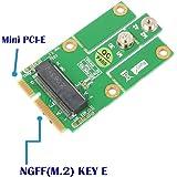 SUPERPLUS M.2 (NGFF KEY E) to MPCIe (PCIe+USB) Adapter