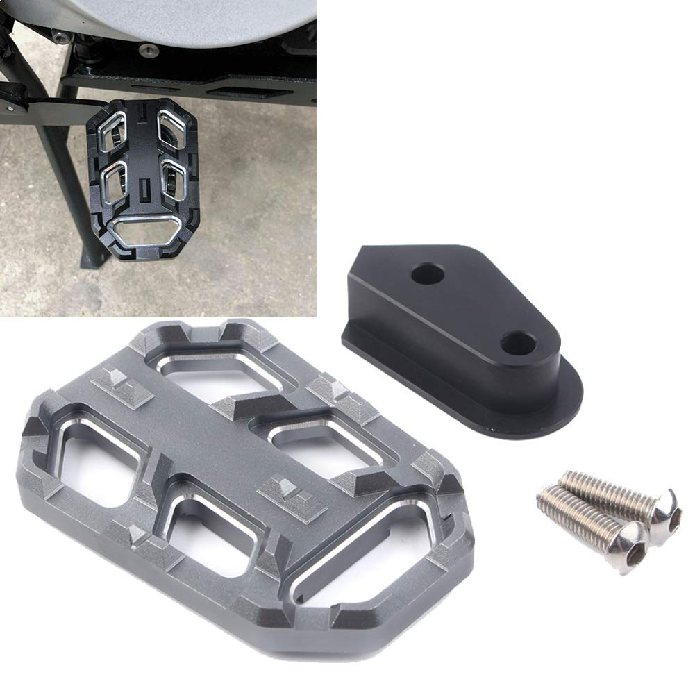 R1200GS LC 2013-2017 GZYF CNC Motorcycle Rear Foot Brake Lever Pedal Enlarger Extension Pad Extender Compatible with BMW G310GS 2017-2018