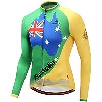 Uriah Men's Cycling Jersey Long Sleeve Reflective