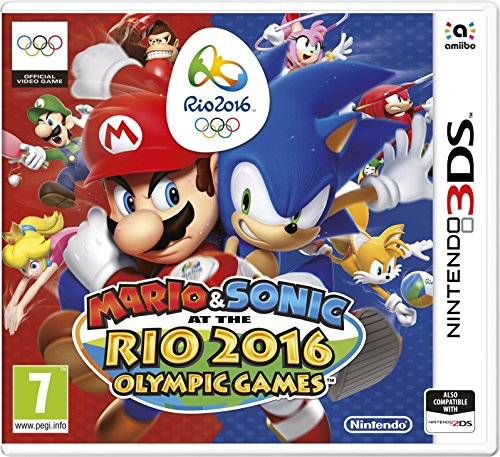 Nintendo Mario & Sonic at the Rio 2016 Olympic Games, 3DS