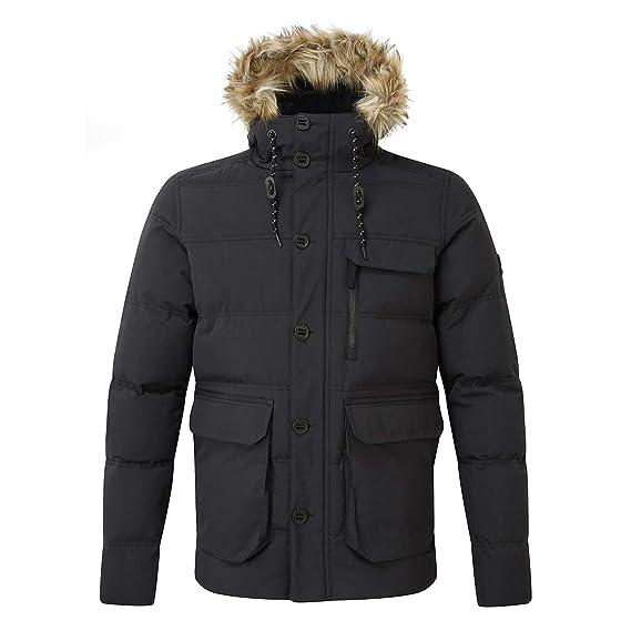 809d439837a3 Tog24 Ryburn Mens Parka Coat Thermal Lightweight Windproof Winter ...