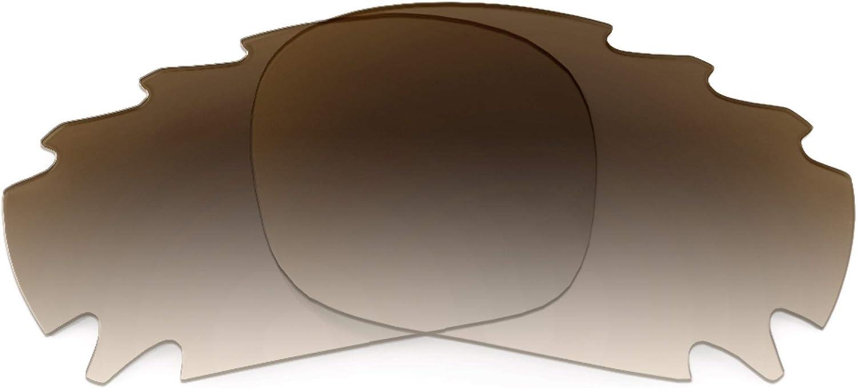 Revant Verres de Rechange pour Oakley Jawbone Vented (Coupe Asiatique) Dégradé Marron - Non Polarisés
