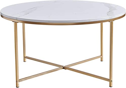 Wimarsbon Round Coffee Table - the best living room table for the money