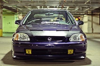 VMS Racing 96 98 Honda CIVIC HOOD BRA Front End Mask For B16 B18 D16