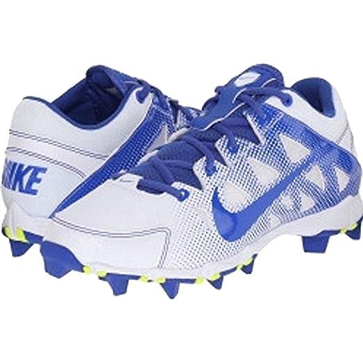 Womens Nike Hyperdiamond Keystone Baseball Cleat (7, Blue/White)
