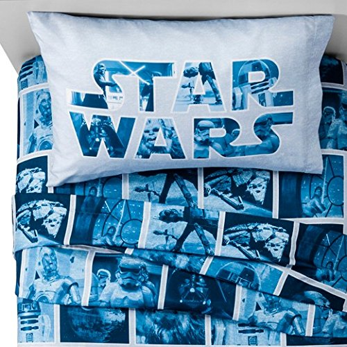 Star Wars Classic Logo Sheet Set Twin