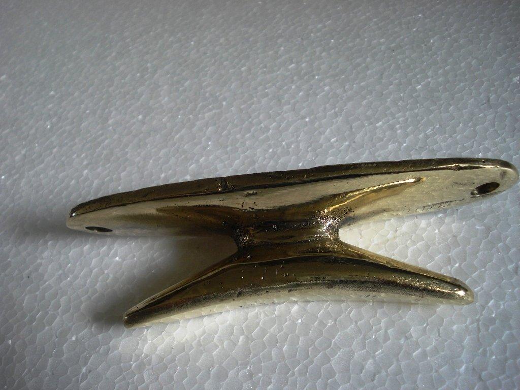 5135 Little /& Very Nice Brass Marine Product - Marine // Nautical // Boat // Maritime Marine Bollard Boat Cleat