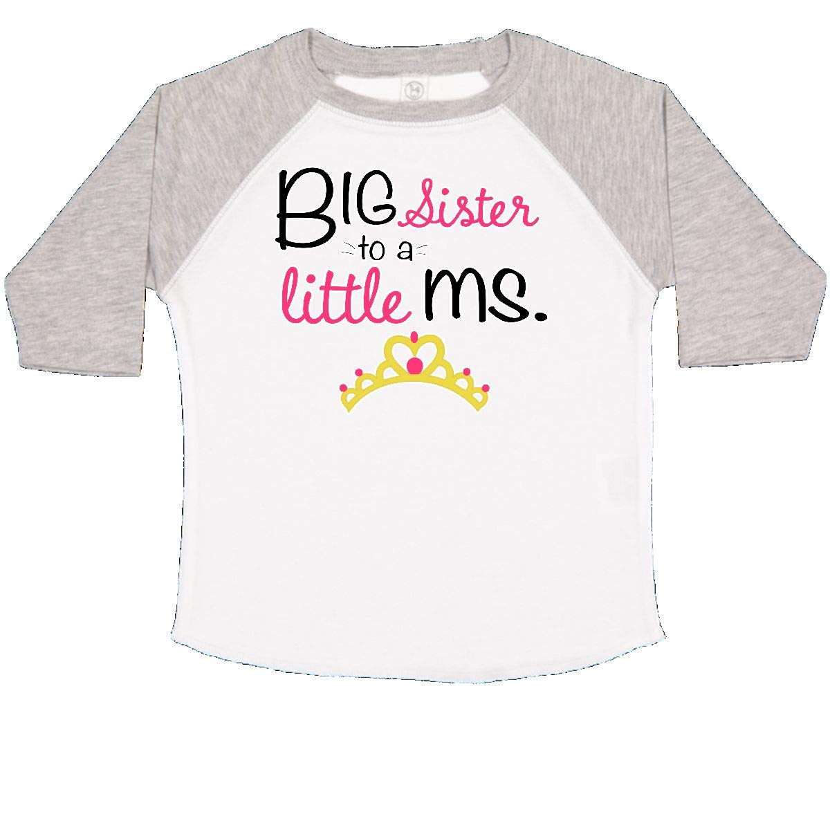 inktastic Big Sister to a Little Ms Toddler T-Shirt