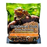 Galapagos 05014 Tropicoco Coconut Husk Bedding, 8-Quart, Natural