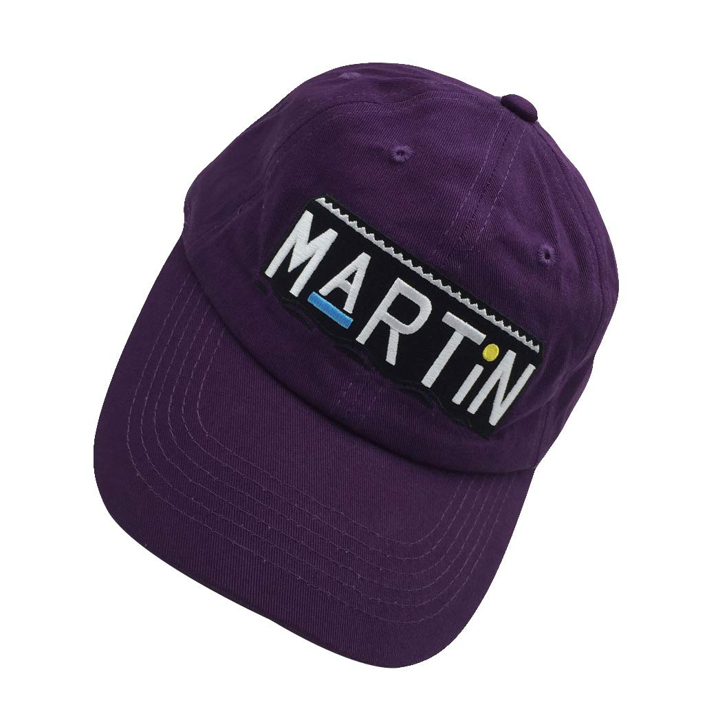 375001068fd ZHANGLIYUE Dad Hat Baseball Cap Unconstructed Adjustable Dad Hat for Men Embroidery  Hat Purple