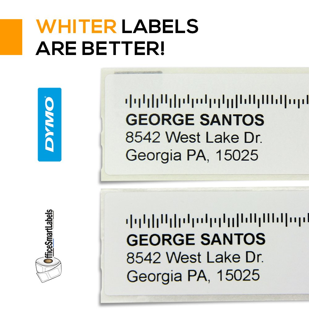 Dymo Compatible 30252-1-1/8'' x 3-1/2'' Address Labels (006 Rolls - 350 Labels Per Roll) by OfficeSmartLabels (Image #7)
