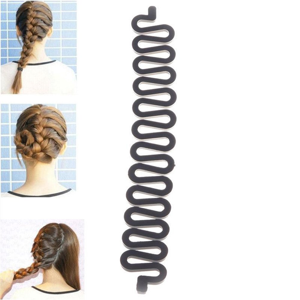 TR.OD 1pc Women Hot Magic Hair Styling Clip Stick DIY Maker HITTIME