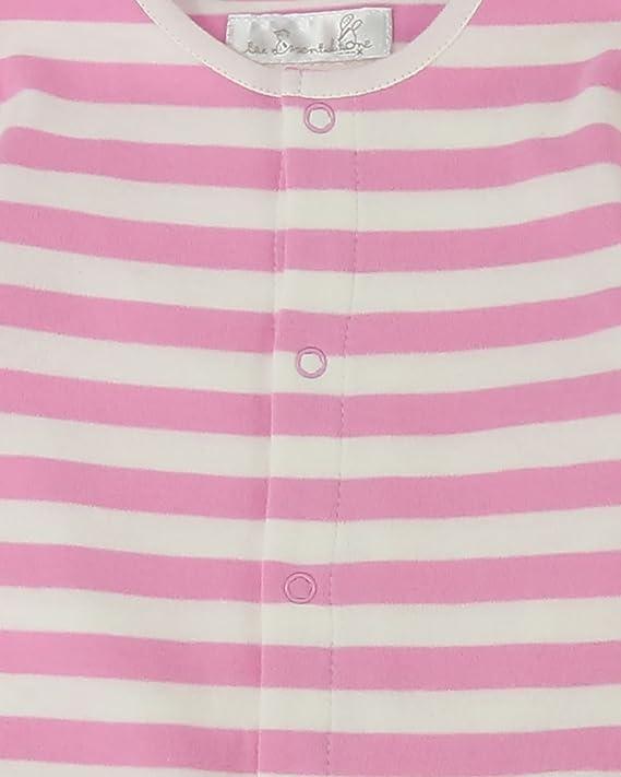 The Essential One - Bebé Niñas Pijama - Paquete de 2 - Crema/Rosa - Recién Nacido - ESS272: Amazon.es: Ropa y accesorios