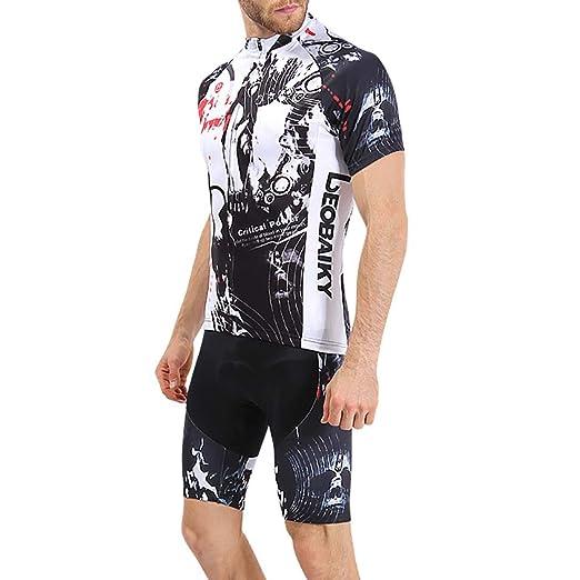 Pantalones cortos para ciclistas, jersey de ciclismo para hombre ...