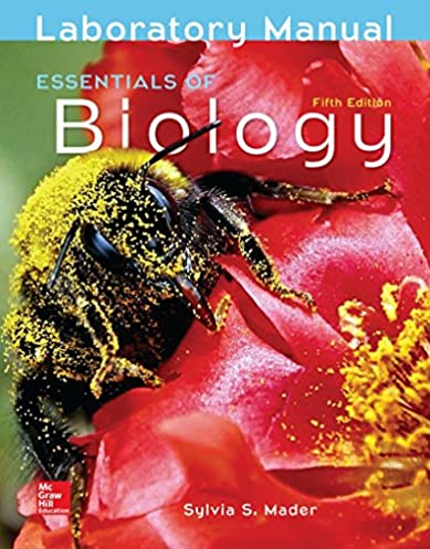 amazon com lab manual for essentials of biology 9781259948435 rh amazon com