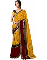 Indian Beauty Cotton Silk Saree