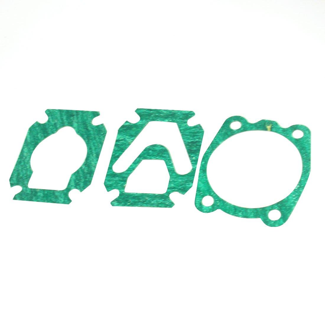 SODIAL(R) 3 in 1 Air Compressor Cylinder Head Base Valve Plate Sealing Gasket