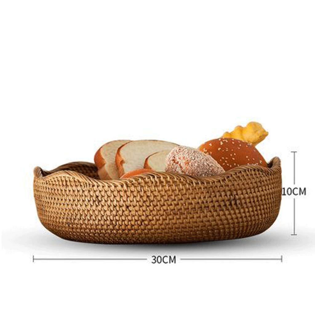 Tragbarer Tragbarer Tragbarer Korb für Picknickkorb-Rattan-Aufbewahrungskorb (größe   L) B07MV4JRBT Krbe & Koffer Lass unsere Waren in die Welt gehen c6dbfd