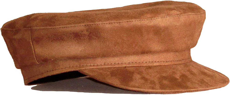 Newsboy Women Suede Leather...