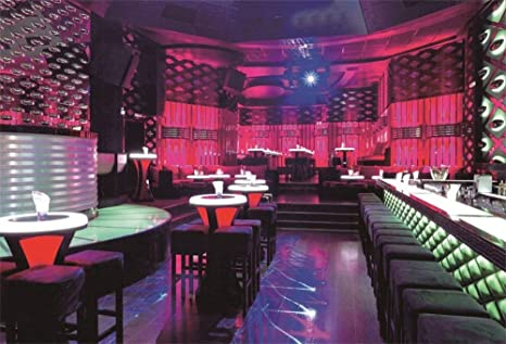 MMPTn Telón Fondo Interior Club Baile 5x3 pies para ...