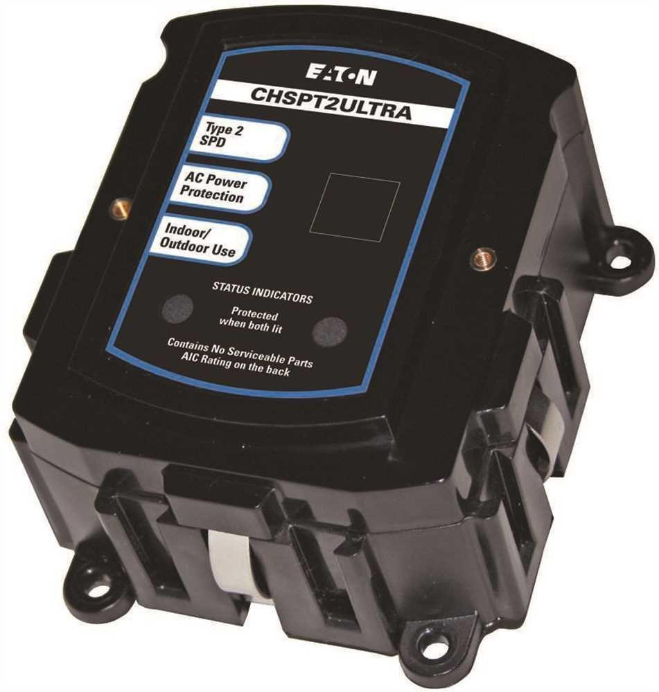 "EATON CHSPT2ULTRA Ultimate Surge Protection 3rd Edition, 2.38"" Length, 5.25"" Width 7.5"" Height"