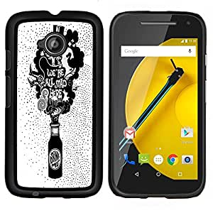 Dragon Case - FOR Motorola Moto G 2nd Generation - predicting the next thing - Caja protectora de pl??stico duro de la cubierta Dise?¡Ào Slim Fit