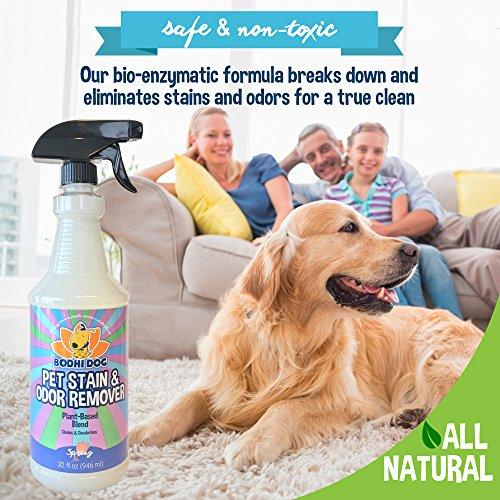 NEW-Natural-Enzymatic-Carpet-Stain-Remover-Professional-Strength-Enzyme-Pet-Odor-Spray-Eliminator-Eliminates-Cleans-Dog-Cat-Smells-Deoderizer-Sanitizer-Cleaner-Urine-Pee-32oz