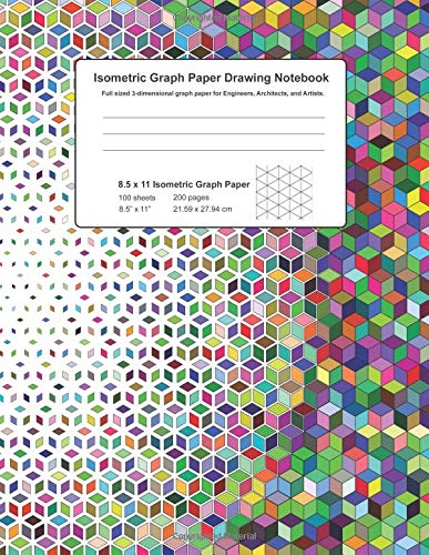 Isometric Graph Paper Drawing Notebook: Full sized 3-dimensional graph paper ideal for Engineers, Architects, and Artists.: Amazon.es: Smith, R: Libros en idiomas extranjeros