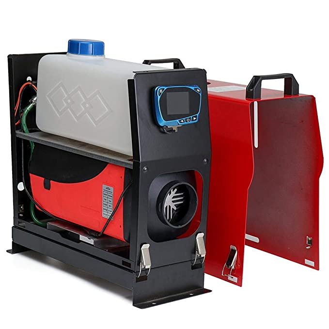 Aire de Diesel Calefacción, 12 V 5 kW Vehículo de calefacción carro con pantalla LCD para camiones, caravanas, Caravana colgante, barcos, los vehículos ...