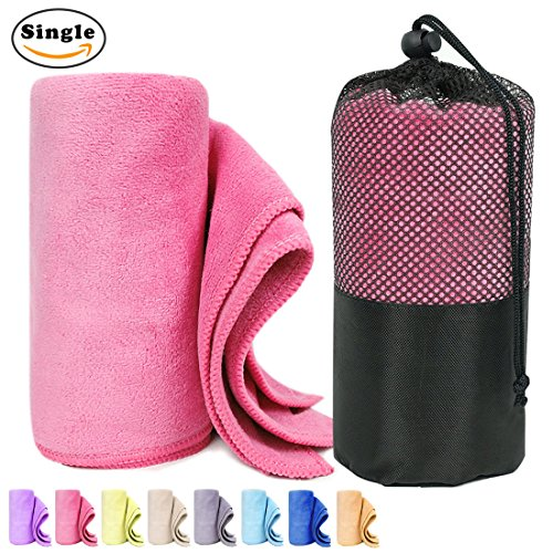 Nlife Sport Towel Travel Towel Quick Drying Microfiber Perfect for Gym, Camping, Hiking, Beach, Pool, and Bath (11.8