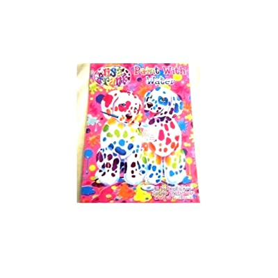 Lisa Frank Spotty and Dotty Paint with Water Book: Toys & Games