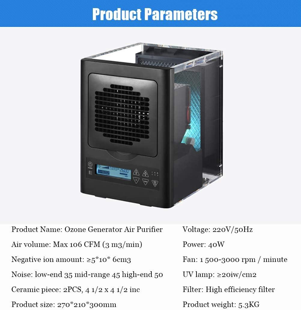 Oz3 Purificador de Aire HEPA Generador de ozono Comercial ...