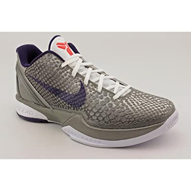 e12721bda61e Nike Zoom Kobe VI China Edition Mens Basketball Shoes Metallic  Pewter Ink-White-